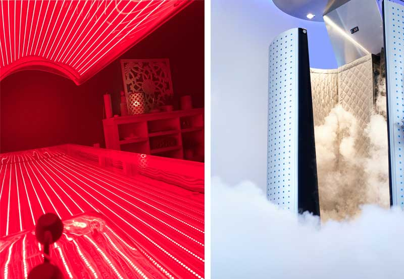 Red Light Therapy & Cryotherapy